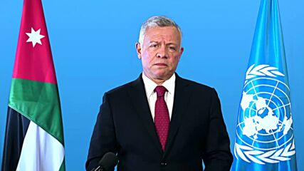 Jordan: 'Security between Palestinian and Israelis can only be achieved through the two-states solution' - King Abdullah II to U