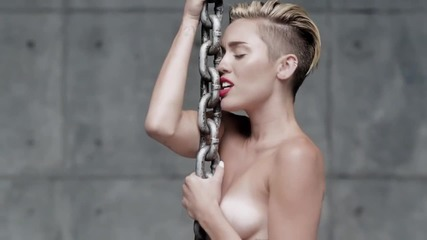 Miley Cyrus - Wrecking Ball + превод