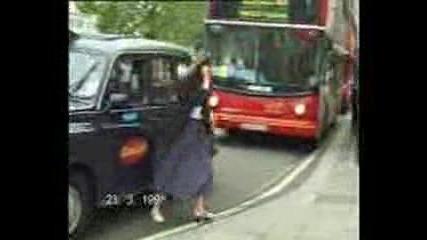 Такси Съблича Жена Много Смях