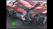 Купчина от 14 суперавтомобила Ferrari в Япония