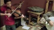 Деца свирят страхотно на Банджо , цигулка и китара