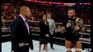 Wwe Monday Night Raw - 19.08.2013 - Randy Orton's Wwe Championchip Coronation
