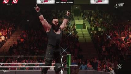 WWE 2K19 entrance mashup: Braun Strowman as Rey Mysterio