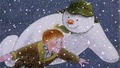 Снежният човек - зимна анимация 1982 The Snowman - winter animation * Walking in the Air * hd