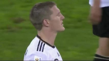 Germany 0 - 1 Spain 0 - 1 Голът на Puyol