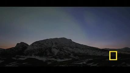 Красивата природа: Северно сияние