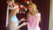 Princess Aurora Telling Disney Blondie How She Met Prince Philip