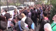 Ukraine: 'Shame on OSCE!' Protesters march on Lugansk offices over checkpoint closures