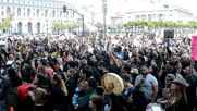 USA: Black Lives Matter hunger strikers take their case to SF City Hall
