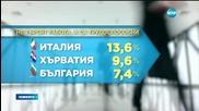 Българите - трети по мързел в Европа