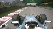 F1: Заключителната част от първата тренировка в Канада