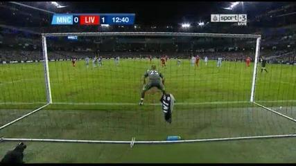 Карлинг къп - Манчестър Сити 0:1 Ливърпул Стивън Джерард (дузпа)