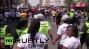 South Africa: Thousands rally against corruption in Pretoria