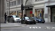 Как се взима завой в Лондон с Nissan Gtr !