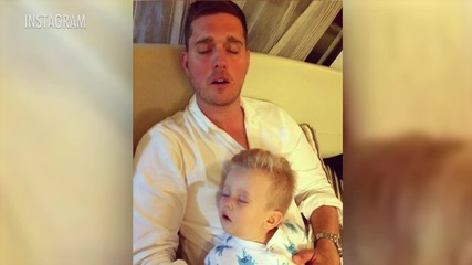 Michael Buble's Son Released from the Hospital Following Serious Burns
