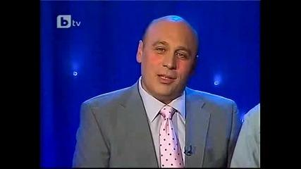 Смешните новини с Ани Сандалич и Юксел Накадриев * Комиците * 19.11.2010