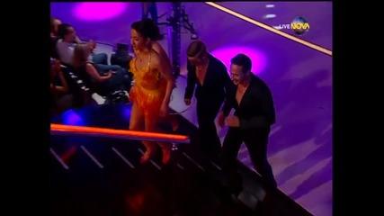 Dancing Stars - Дарин Ангелов и Ани танц по четворки (27.05.2014г.)