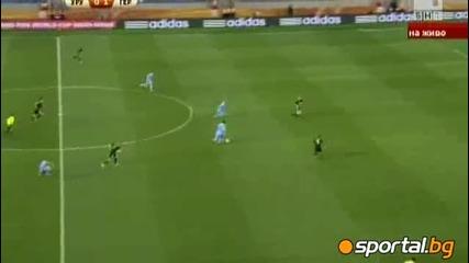 World Cup 2010 Уругвай - Германия 1:1 Първо полувреме