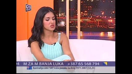 Tanja Savic - Utorkom u 8 __ TvDmSat 2014 - Deo 3 __