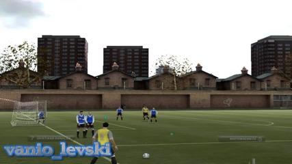 Гол от нищото на Фифа 2012 с Кристиано Роналдо