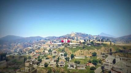 Grand Theft Auto V Gameplay Xbox 360 !