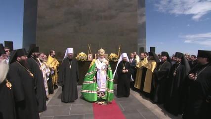 Brazil: Patriarch Kirill holds service beneath Christ the Redeemer