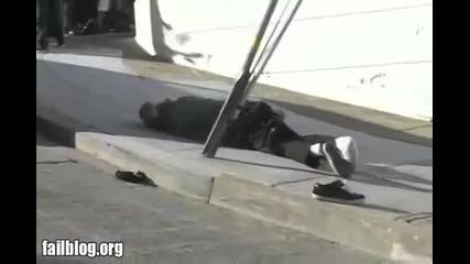 Youtube - Skateboarding Fail
