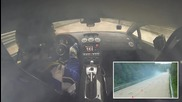 Lamborghini Ugr fire at a speed of 402 km h (2005 Hp) On board