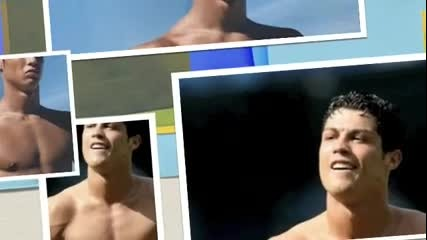 Shirtless Cristiano Ronaldo