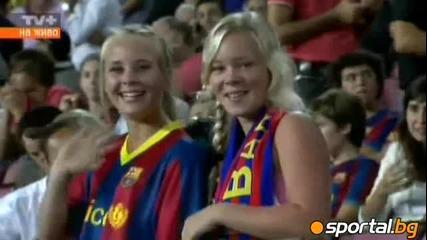 Барселона - Осасуна 8:0 - Меси и Вия се развихриха с по 3 три гола