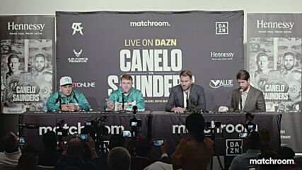 USA: Post-fight presser with 'Canelo' Alvarez and Demetrius Andrade heats up