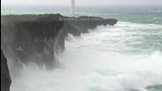Огромни вълни в Окинава