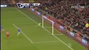 (2014) Страхотен гол на Суарез | Ливърпул - Хъл Сити (2-0)
