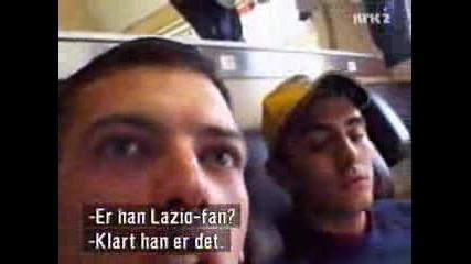 Тюрам Го е Страх От Феновете На Лацио Lazio Ultras Irriducibili Part 2