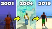 Jumping From The Highest Building In GTA GAMES 2001-2019