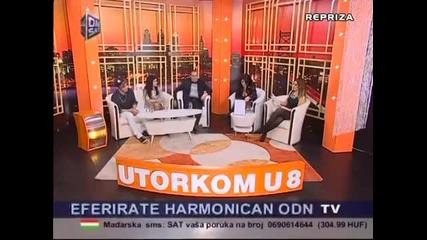 Tanja Savic,Milan Stankovic i Djani - Utorkom u 8 TvDm Sat 2013