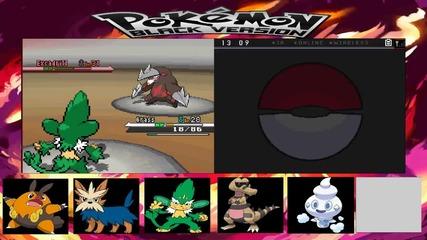 Pokemon Black Walktrought Part 20 - с гост, който не ми помага особенно xd и бия 5-тия лидер
