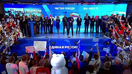 Russia: 'Moscow shows unprecedented activity' - Mayor Sobyanin on State Duma elex