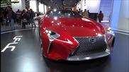 Lexus Lf Lc Concept - Paris Motorshow 2012