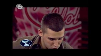 Music Idol 3 - Единственият Човек, Който Разчуства Мария