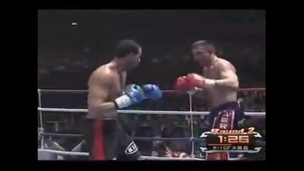 K-1 World Grand Prix 2008 Badr Hari vs Peter Aerts
