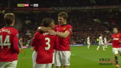 11.01.14 Манчестър Юнайтед 2 - 0 Суонзи Сити - Най-доброто от мача