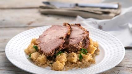 Коледна рецепта | Бон апети | Свинско печено с ароматна кора