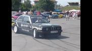 Bmw 316i Ursulet - Burnout Drift @ Auto Moto Show (sibiu)