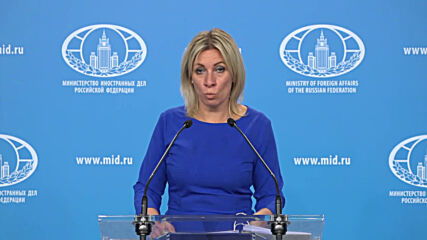 Russia: No evidence of 'Russian involvement' in Navalny case – Foreign Ministry spox.