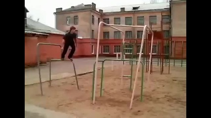 100% Parkour-freerunning