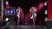 Нати и Федерико танцуват на Ser mejor