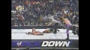 Edge & Rob Van Dam vs. Kurt Angle & Chris Jericho - Wwf Smackdown 03.01.2002