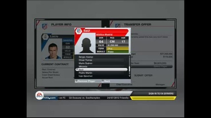 Fifa 13 Manager Mode ep.1 - Atletico Madrid