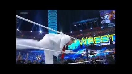 wwe Team Johnny vs. Team Teddy Wrestlemania 28 Highlights